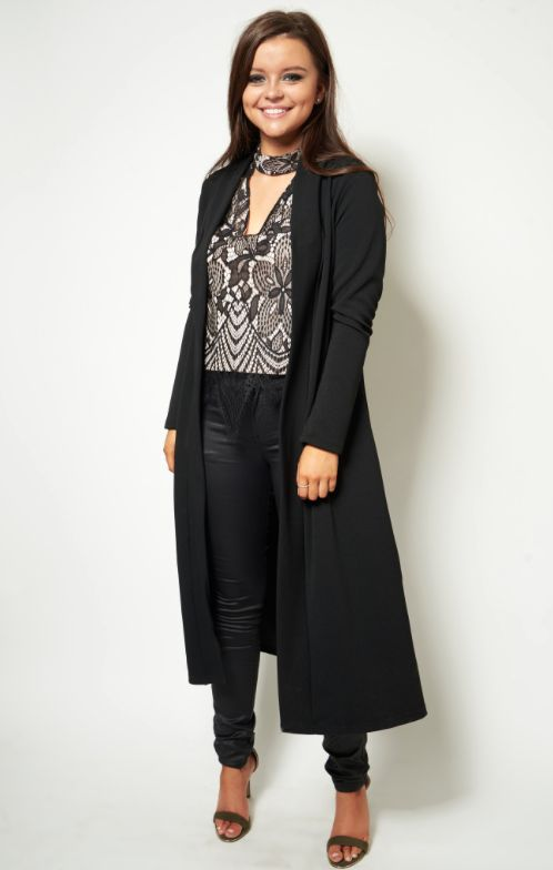 SALE QUEENS Our Orla black duster coat is now just £25 - From £45! https://www.havetolove.com/collections/sale/products/orla-black-duster-coat Grab yours now before they go! #NEfollowers #sale