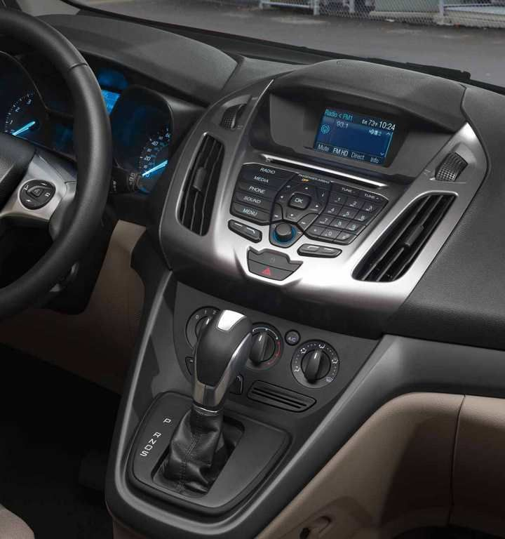 2018 Transit Connect Xlt Passenger Wagon Interior Ford Transit