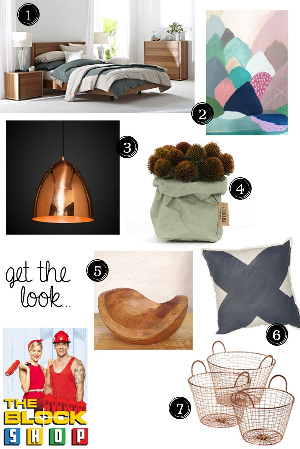 The Block Glasshouse | Guest bedroom reveals | Michael and Carlene | Blossom and Bright | diy and design