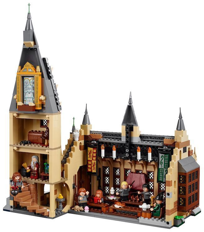 Lego Announces New Harry Potter Sets Including Hogwarts Great Hall Legos Compras Harry Potter