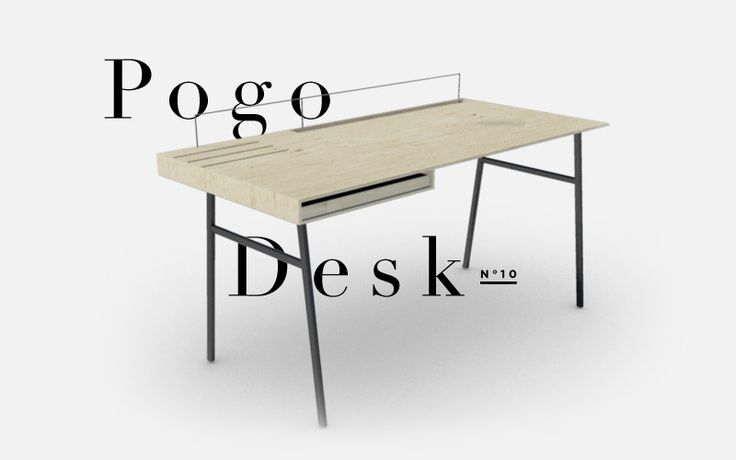 RHYTHM Design Studies - Pogo Desk