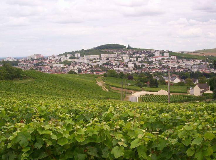 Epernay, Champagne Region, France