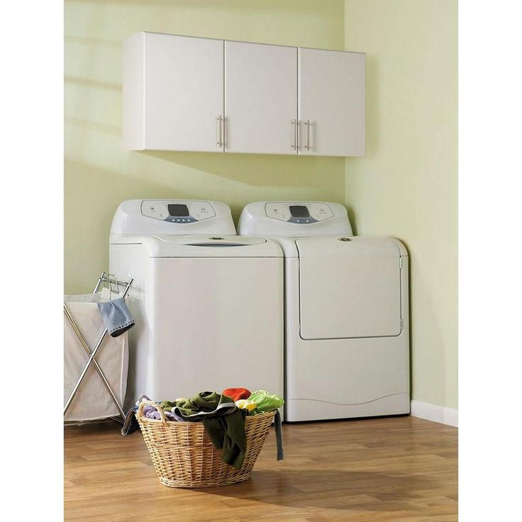 3 Door Wall Cabinet In White Cabinets For Laundry Roomgarage