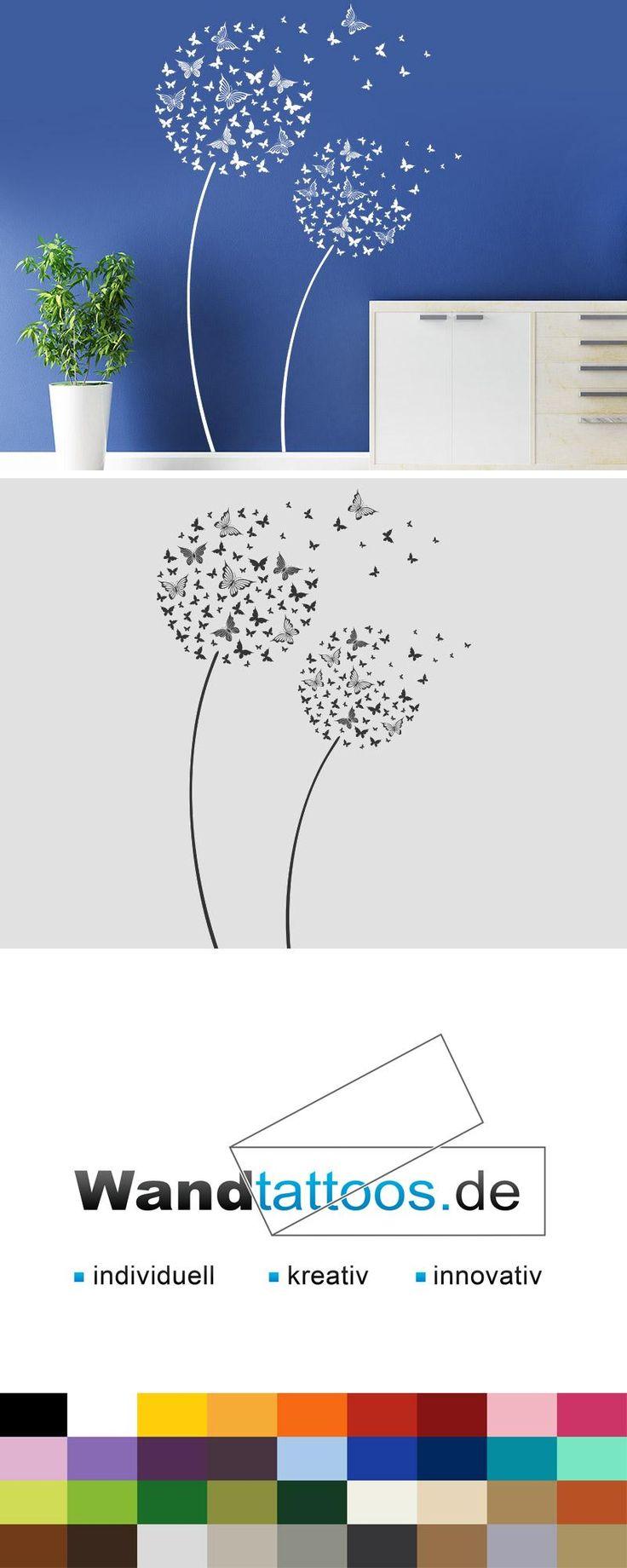 Wandtattoo Schmetterlingsblüten als Idee zur individuellen Wandgestaltung. Einfach Lieblingsfarbe und Größe auswählen. Weitere kreative Anregungen von Wandtattoos.de hier entdecken!