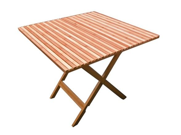 coleman 33 5 u0026quot  bamboo square folding table