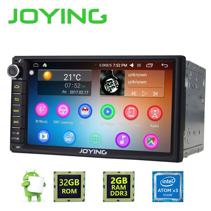 JOYING 2GB RAM 32G ROM 2Din HD 7'' Android 6.0 Universal Car Radio Audio Stereo GPS Navigation Media Player //Price: $301.44 & FREE Shipping //     #audio