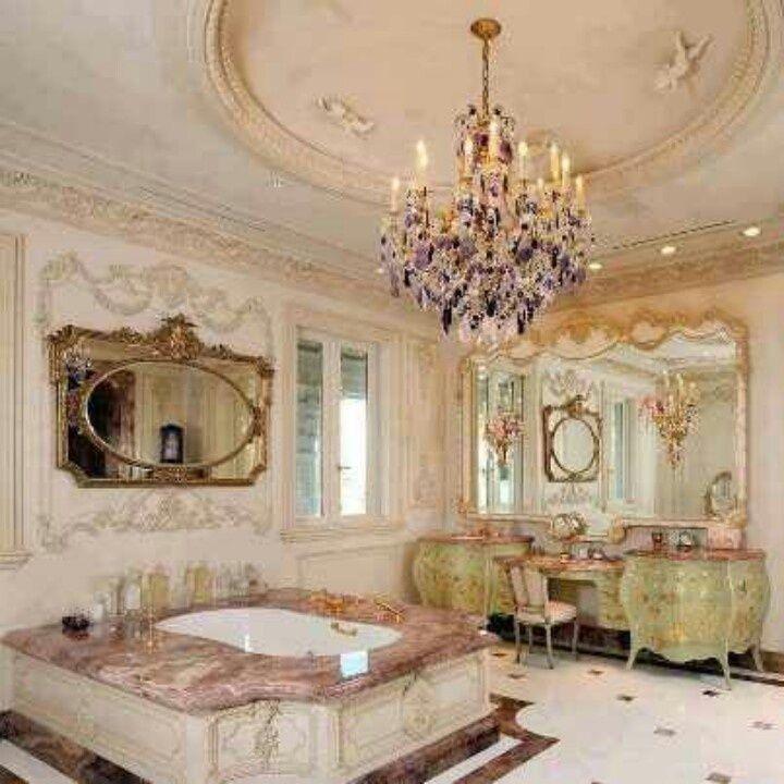 Amazing Romantic Home Decor Part - 6: Old World Romantic Home Decor | ~Tuscan/Old World/Italian/French Decor~ |  Pinterest | Amazing Bathrooms, Romantic And Shabby