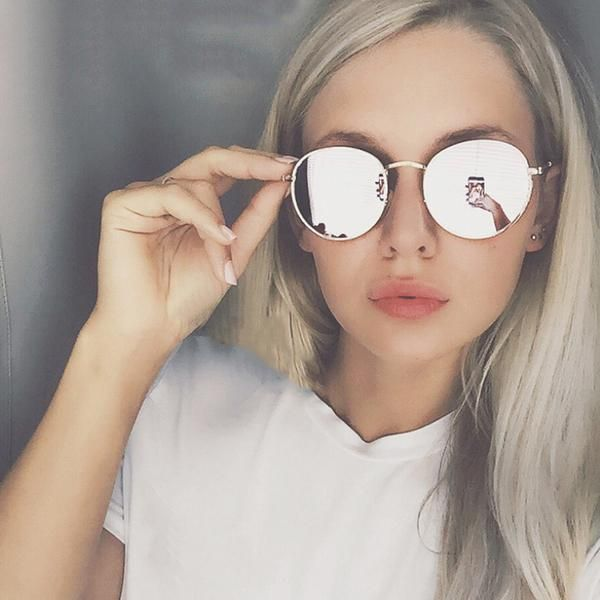 Fashion Bestprice Polyreal 1px215 Vintage Round Sunglasses Women Retro Classic Rose Go Round Metal Sunglasses Round Sunglasses Women Round Sunglasses Vintage