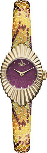 #Stylish #Outfit #Vivienne Westwood Ladies Concertina Watch VV096RDPP Product Description - Quartz movement - Red dial with gold tone detailing - Multi Coloured ...