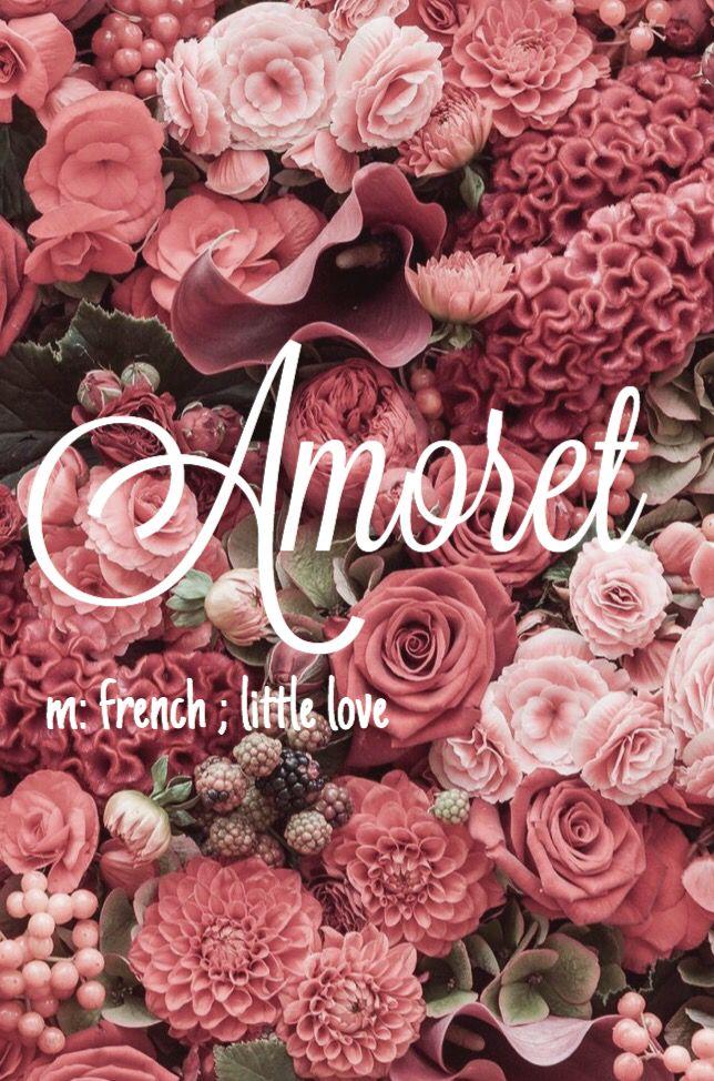 Amoret - stunning baby girl name!