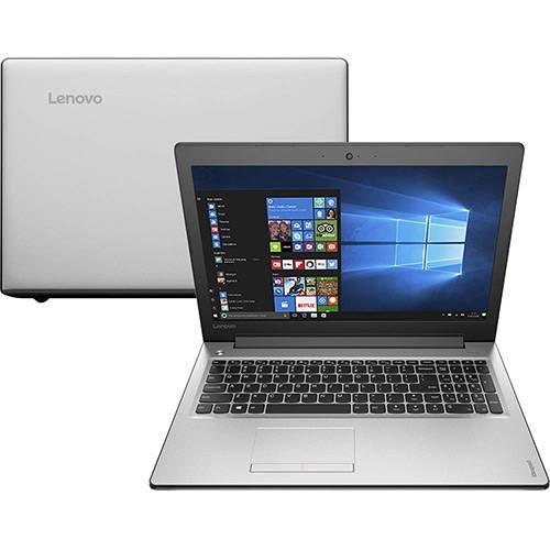 "Notebook Lenovo Ideapad 310 Intel Core i7-6500u 8GB (GeForce 920M de 2GB) 1TB Tela LED 15"" Windows 10 - Prata"