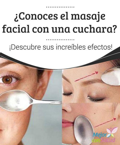 ¿Conoces el masaje facial con una cuchara? ¡Descubre sus increíbles efectos! El masaje facial con una cuchara es un tratamiento estético que te ayuda a reafirmar y nutrir la piel. ¡Descúbrelo!