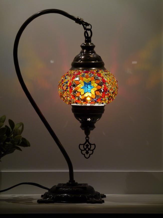 Turkish Mosaic Lamp Small