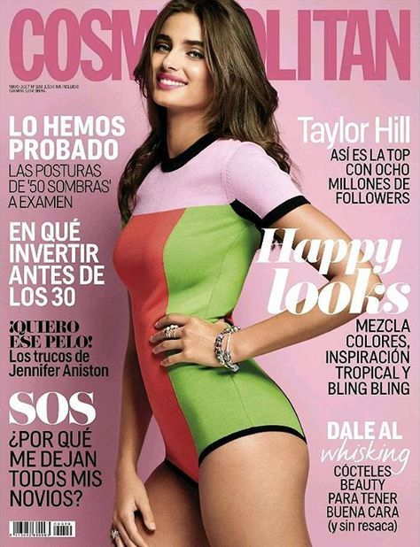 Taylor Hill by Matthew Eades for Cosmopolitan Spain May 2017 Cover