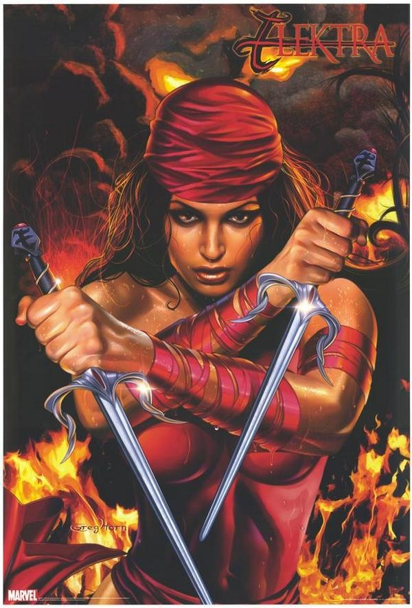 Elektra! Before she was a movie star, Elektra was a badass ...