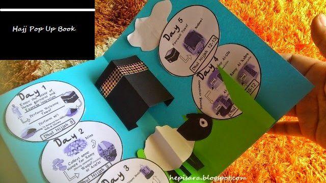 Seronok Belajar Di Rumah: Aidiladha Part 1: Hajj Pop Up Book