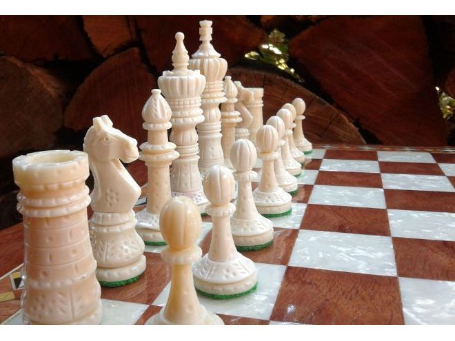We are experts for manufacturing and exporting Bone Chess board with chess men.  http://chesskart.com/chess-boards/bone-chess-boards   #BoneChessBoards