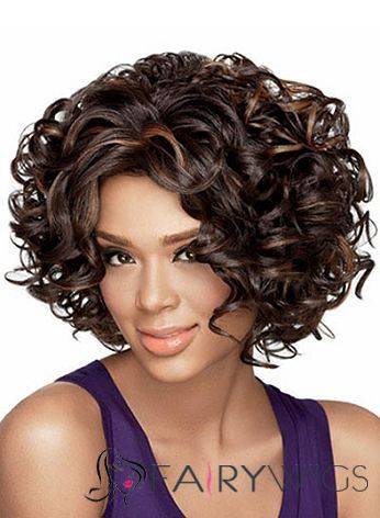 soft curly hair styles beautiful wavy brown american lace wigs for 8501