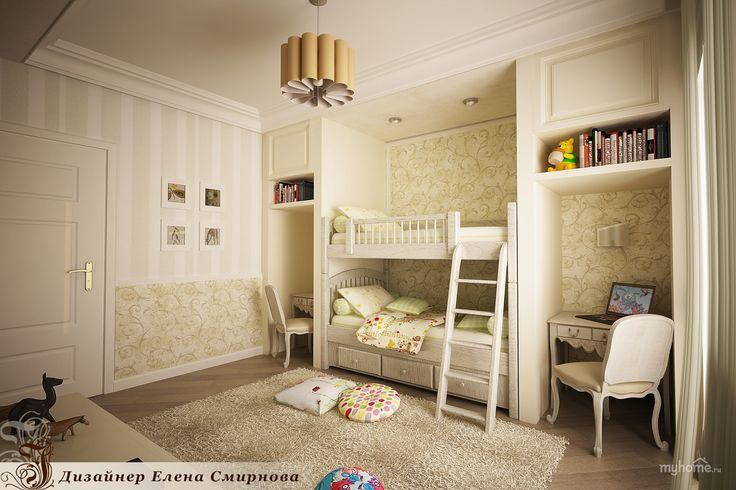 детская комната для мальчика и девочки в классическом стиле: 18 тыс изображений найдено в Яндекс.Картинках