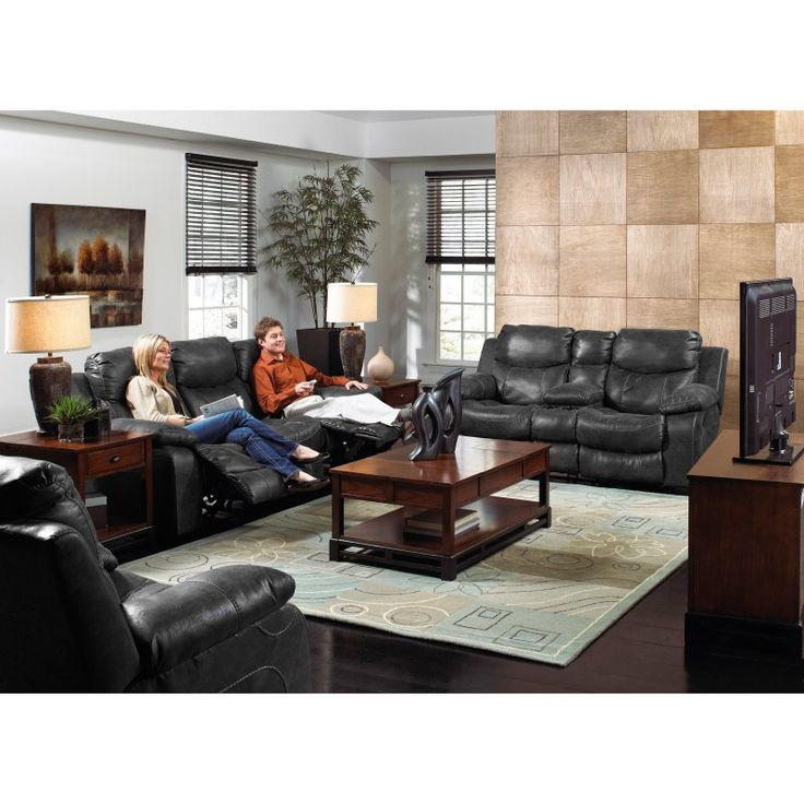 Catnapper Catalina Leather Reclining Sofa Set - Steel - CAT302  sc 1 st  Pinterest & 20 best Furniture images on Pinterest | Leather reclining sofa ... islam-shia.org