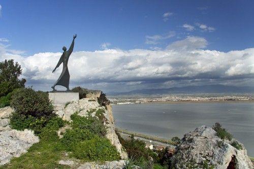 Scorcio di panorama che si può ammirare dal Parco di Monte Urpinu a Cagliari