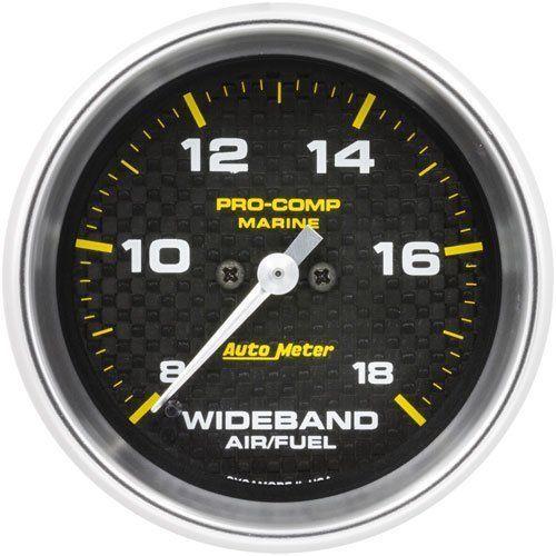auto meter 200870 40 pro comp marine wideband air fuel gauge 2 5 8 rh pinterest com