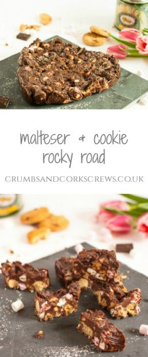 Malateser and Cookie Rocky Road - Crumbs and Corkscrews