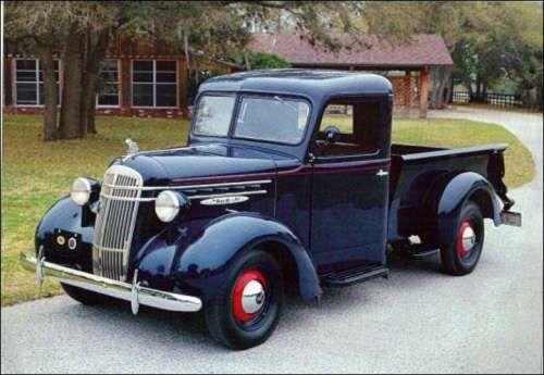 1937 Mack Jr. pickup truck (20 photos)
