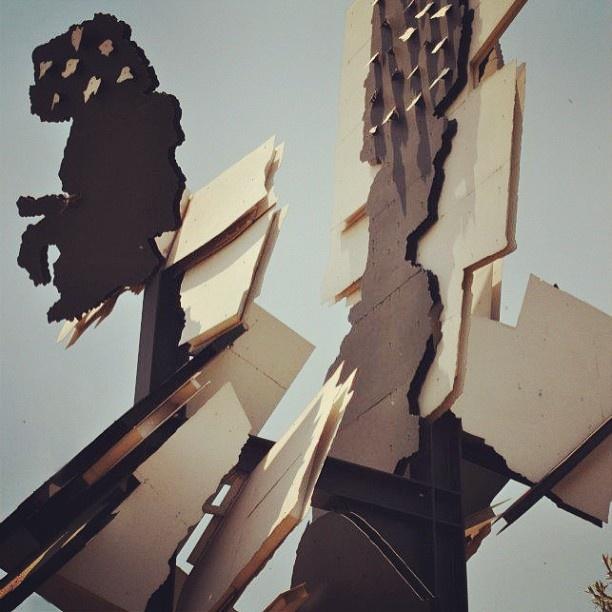 Fire Walker. #johannesburg #sculpture #art #instagram #urbangenesis