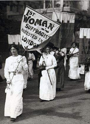 Suffragettes 1913.