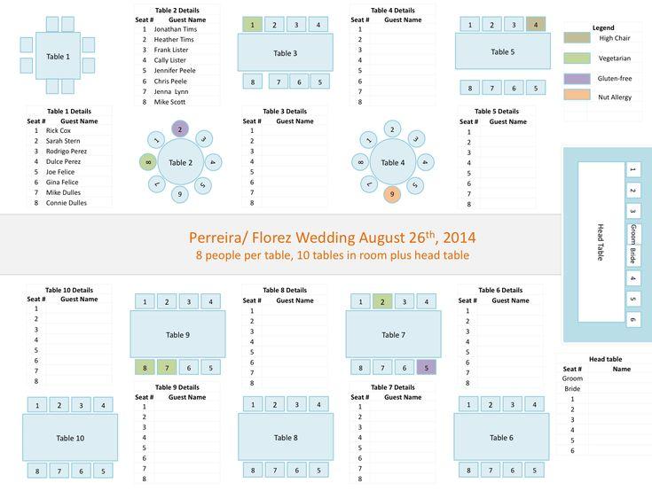 seat plan template