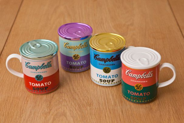 名作のキャンベル・スープ缶の柄を用いたマグカップ!の画像 『VIVA JAPAN』 | Antenna