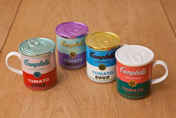 名作のキャンベル・スープ缶の柄を用いたマグカップ!の画像 『VIVA JAPAN』   Antenna