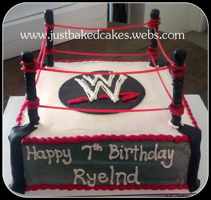 WWE CAKES | Pin Pin Wwe Birthday Cakes For Kids 9 Cake On Pinterest Cake on ...