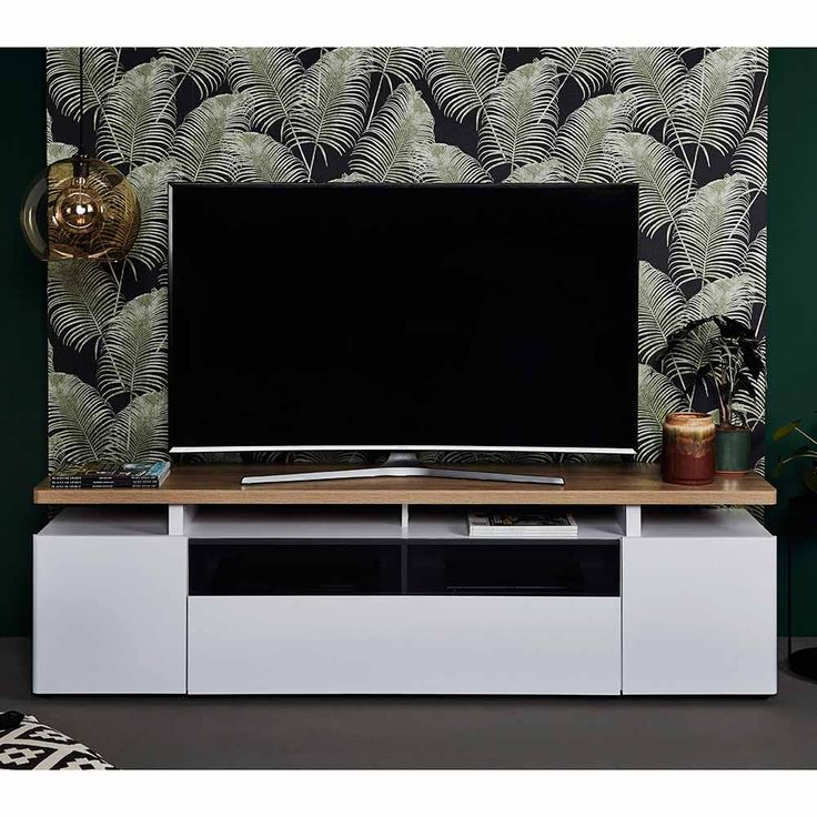 TV Board in Weiß Eiche hell 190 cm Jetzt bestellen unter: https://moebel.ladendirekt.de/wohnzimmer/tv-hifi-moebel/tv-lowboards/?uid=7ecf29a3-e77c-5c31-82eb-4e1543b342a7&utm_source=pinterest&utm_medium=pin&utm_campaign=boards #fernsehboard #rack #phonoschrank #tvboard #fernsehunterschrank #tische #tvhifimoebel #lowboard #schrank #fernsehtisch #unterschrank #möbel #phonomöbel #bank #fernseher #tvtische #sideboard #tvlowboards #fernsehschrank #wohnzimmer #kommode #board Bild Quelle: pharao24.de