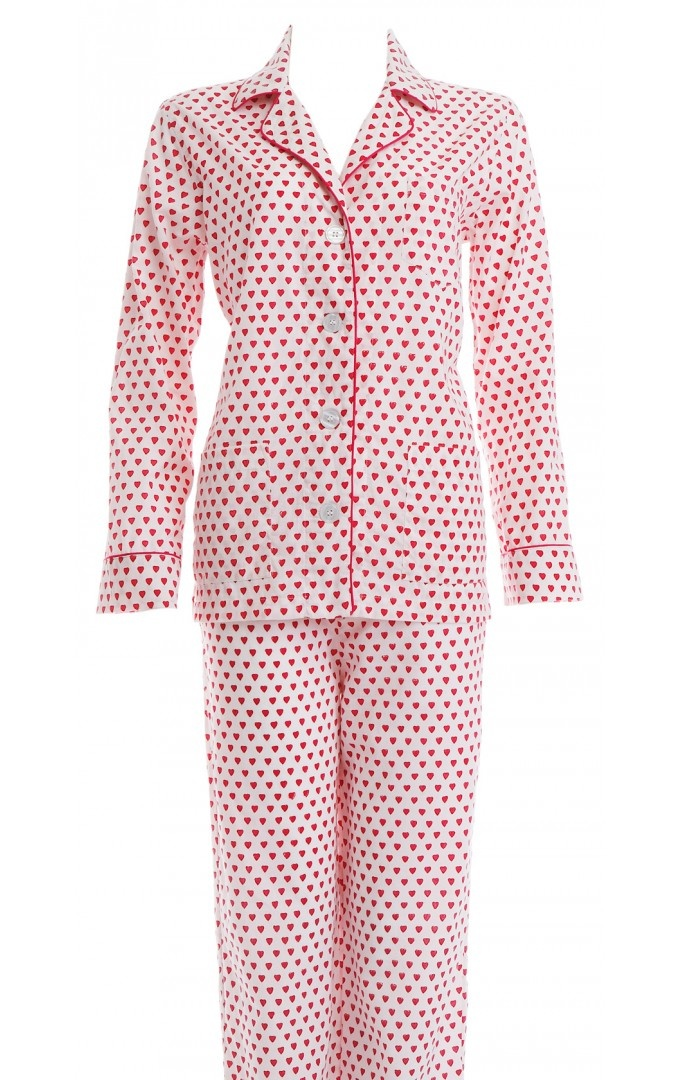 "These comfy Roberta Roller Rabbit heart pjs are the perfect way to say "" I love you"" to your wife, sister or friend."