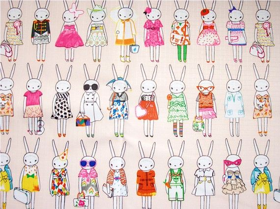 Fashionable Bunnies