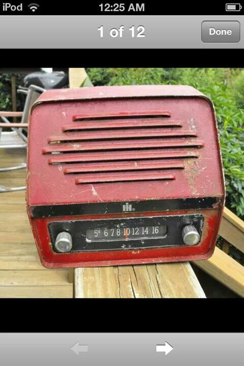 18 best images about collectables on pinterest radios for International harvester room decor
