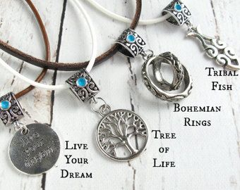 Bohemian Jewelry-Heart Necklace-BOHEMIAN NECKLACE-Heart