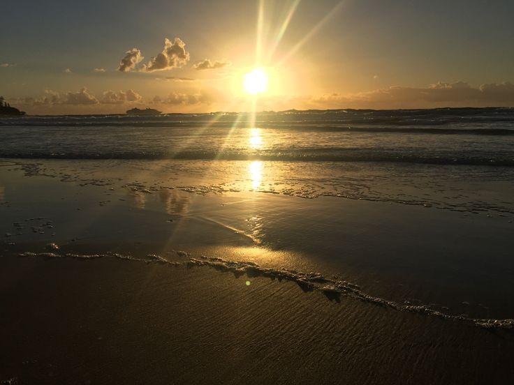Mourning sunrise!