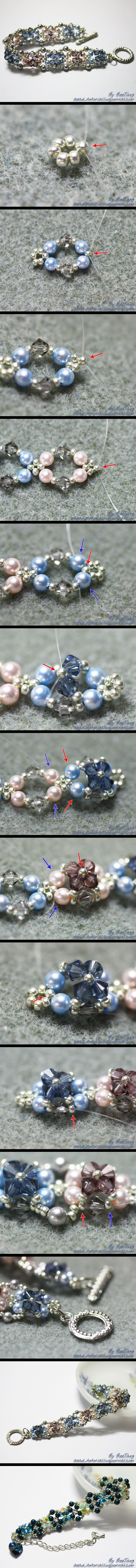 Pearl Elegance: 4mm Pearl, 4mm BC, 11/0