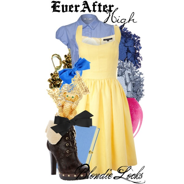 """Ever After High : Blondie Locks"" by missm26 on Polyvore"