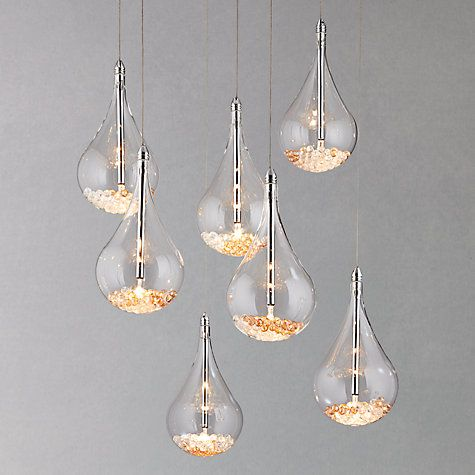 [The Home Edit] - Cosy Nights - Sebastian 7 Light Drop Ceiling Light #johnlewis #home