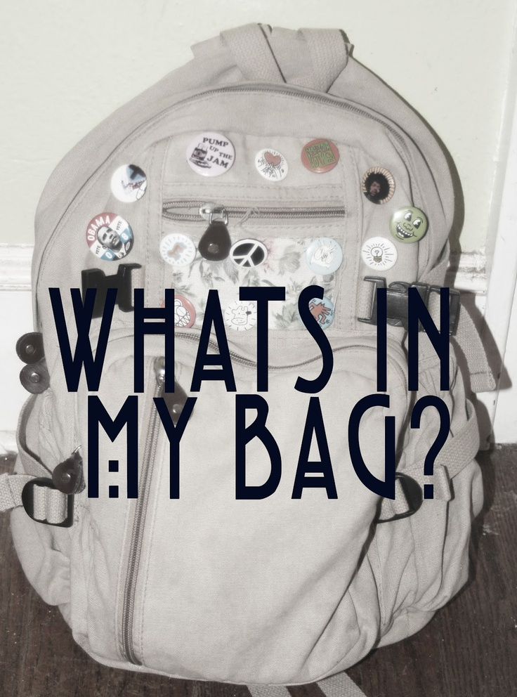 Ave Renee: What's in my bag? // College Commuter Edition