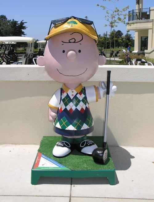 Good Golf Charlie Brown