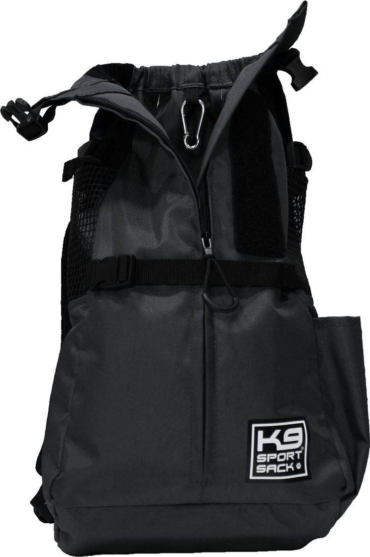 K9 Sport Sack Trainer Dog & Cat Carrier Backpack, Coral, X