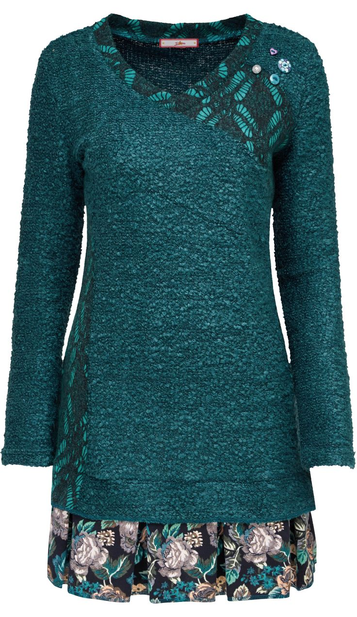 Beautiful blue Pantone Biscay Bay for fall 2015 - love this dress - see other cute stuff for fall n winter: http://www.boomerinas.com/2015/06/26/10-pantone-fall-colors-for-autumn-2015-winter-2016/