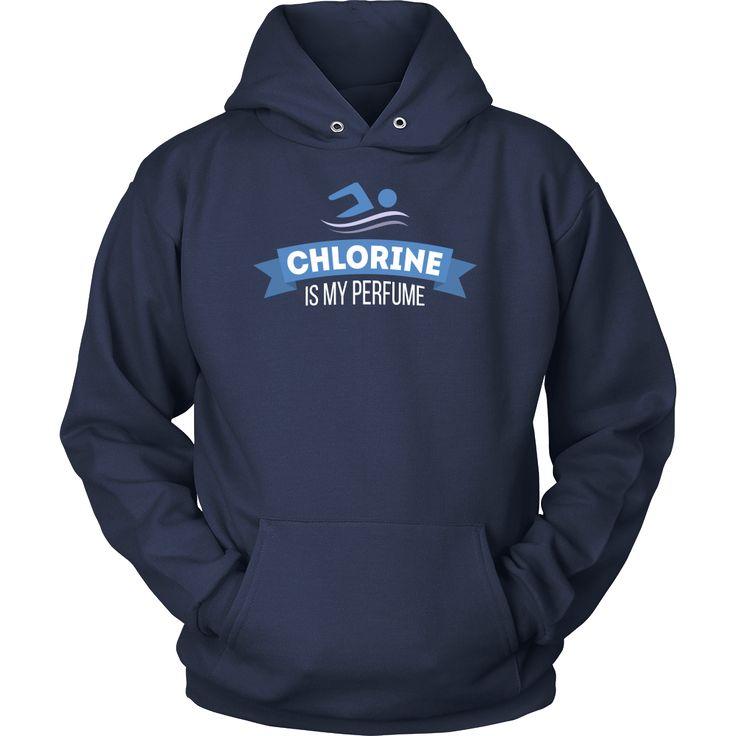 Chlorine is my perfume Swimming T Shirt