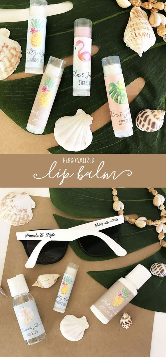 Tropical Bachelorette Party | Beach Wedding Favors | Aloha Bridal Shower