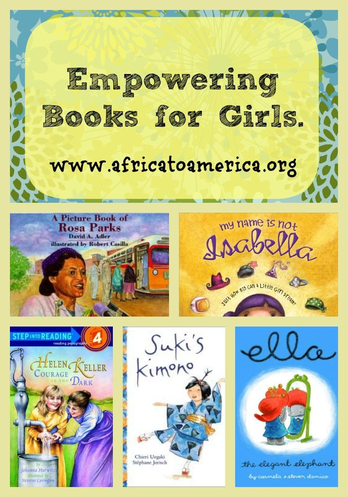 Books about strong and amazing women to inspire and empower young girls. Women's Books, Diet, Fitness, Fashion, Makeup, Relationships - http://amzn.to/2hmeH1Y